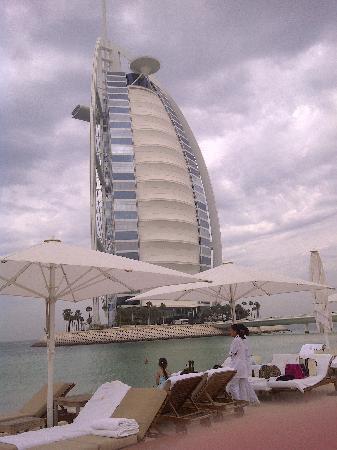 view from their private beach - picture of burj al arab jumeirah