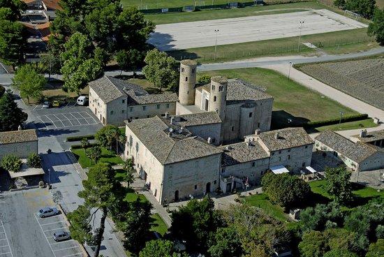 Hotel San Claudio: vista dall'alto