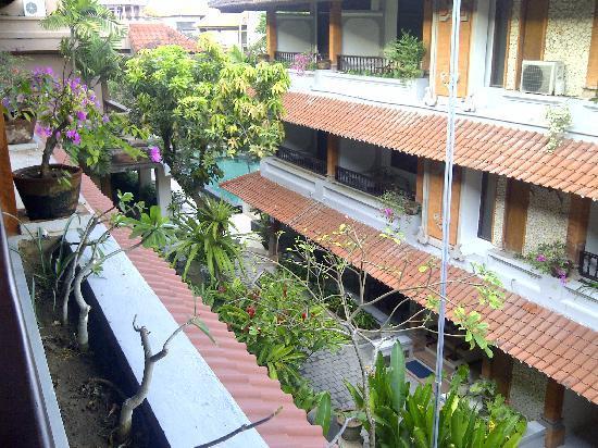 Bali Summer Hotel: tampak dari atas