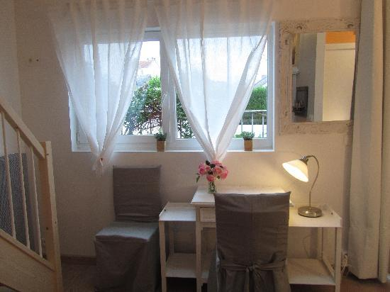 Chambres Hotes Courteline : Chambre La Caravelle,claire,confortable, chaleureuse