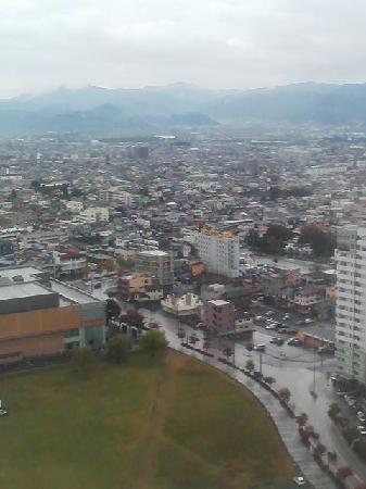Yamagawaeki Nishiguchi  Washington Hotel: 客室からの眺め