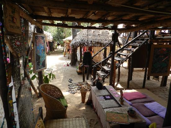 Atman Beach Resort Arambol Rest Downstairs