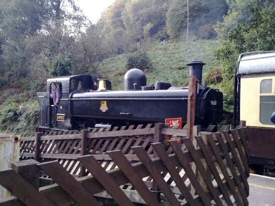 Deanfield Bed & Breakfast : Steam train