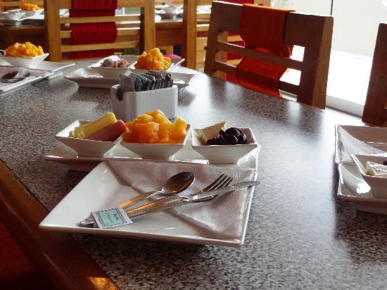 Hotel Runcu Miraflores: What a way to start breakfast