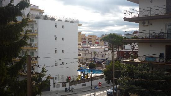 Hotel Raco d'en Pepe: Das war die Aussicht aus unserem Zimmer....