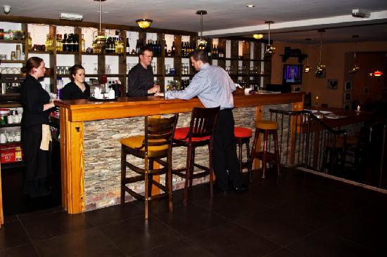 Tractors Restaurant and Bar, extensive wine list, all wines available by the glass too.