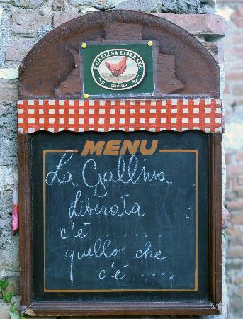 La Gallina liberata: ..... e quello che c'è è veramente delizioso!!