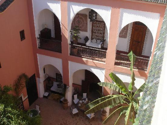 Riad Barroko: Main area