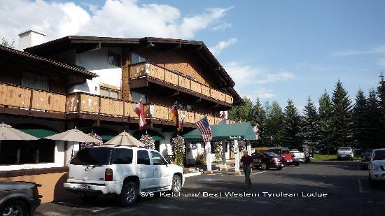 Best Western Tyrolean Lodge : le motel