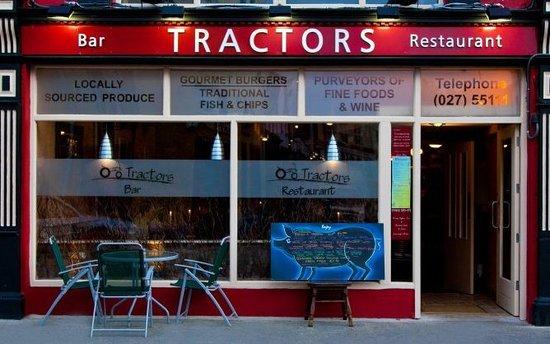 Tractors Restaurant and Bar : Tractors Family restaurant and Bar