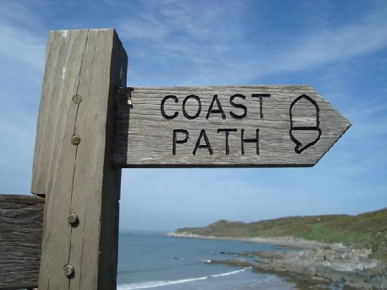 Watersmeet Hotel: The SW Coastal Path is on our doorstep