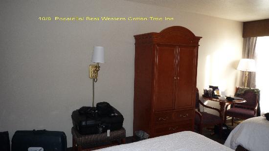 BEST WESTERN Pocatello Inn: notre chambre