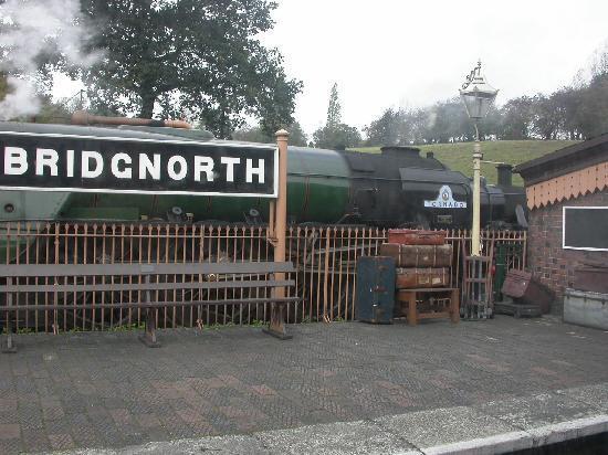Severn Valley Railway: bridgnorth station