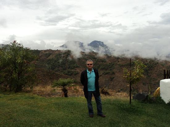 Hotel Cerro de Hijar: las nubves y yo
