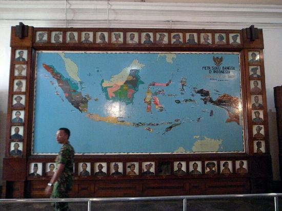 Ethnic map of Indonesia Picture of National Museum Jakarta