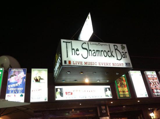 The Shamrock Bar