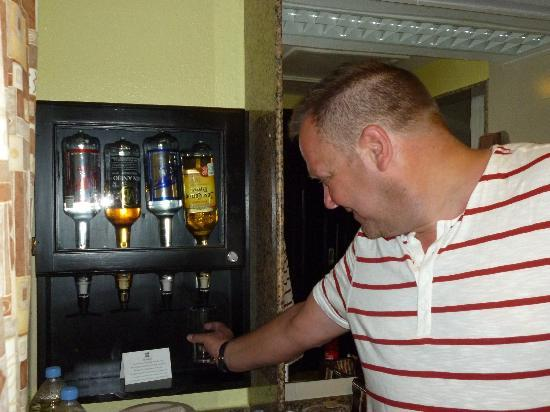 Liquor Dispenser Picture Of Hotel Riu Tequila Playa Del