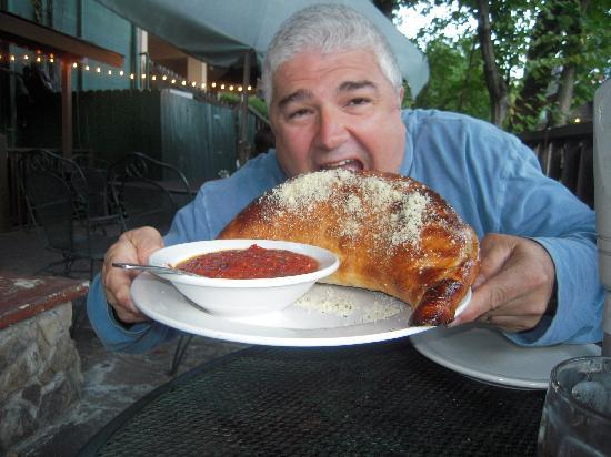 Best Italian Cafe & Pizzeria: Now that's what I call a calzone!