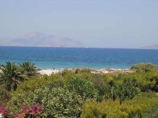Caravia Beach Hotel: vue imprennable de la chambre