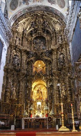 Iglesia de la Magdalena: Retablo Mayor.