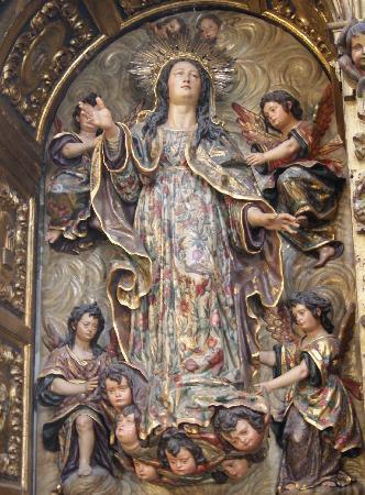 Iglesia de la Magdalena: Asunción de la Virgen. Juan de Mesa.