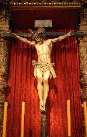 Iglesia de la Magdalena: Cristo del Calvario