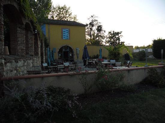 Hotel La Verrerie : la terrasse