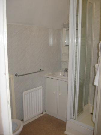 Hunters Lodge Hotel: snapshot of the bathroom with walk in shower