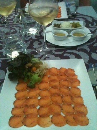 Romántica: smoked salmon Romantica style!!