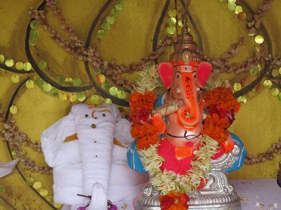 Club Mahindra Madikeri, Coorg: Beautiful Idol of Lord Ganesha at Club Mahindra Coorg on Ganesh Chaturthi