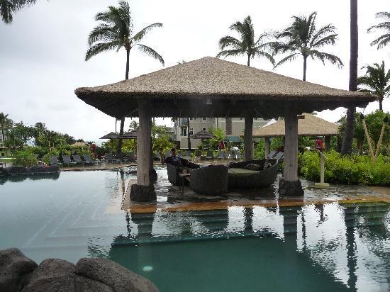 The Westin Princeville Ocean Resort Villas: main pool and cabana area