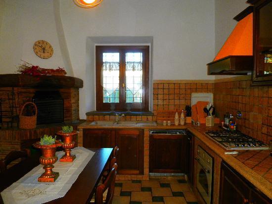 Casale Torlonia: cucina