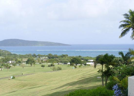 The Reef Golf and Beach Resort: View from the patio