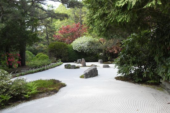 Northeast Harbor, Μέιν: Zen Garden