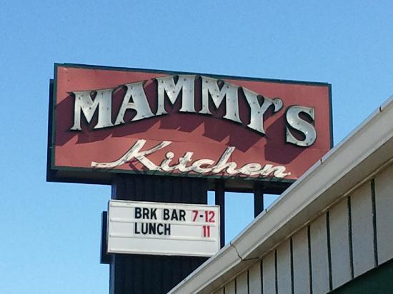 Mammy's Kitchen: Sign