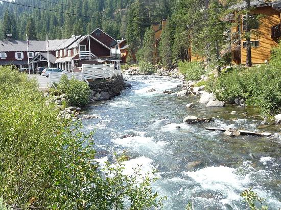 Hyatt High Sierra Lodge: biking along the Truckee River