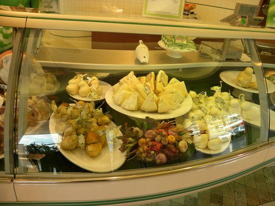 Antica Macelleria: Cheese