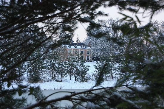 Le Mousseau sous la neige