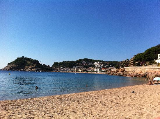 Tossa Beach Hotel: Tossa Beach