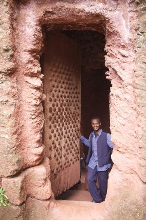 Abebe in Lalibela