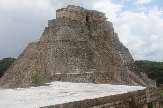 Tempel von Uxmal: Uxmal Mayan ruin