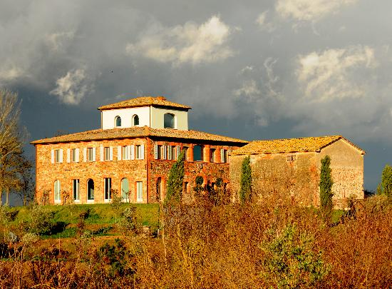 Siena House: From afar