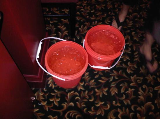 Auberge Montebello: How water was provided to guests