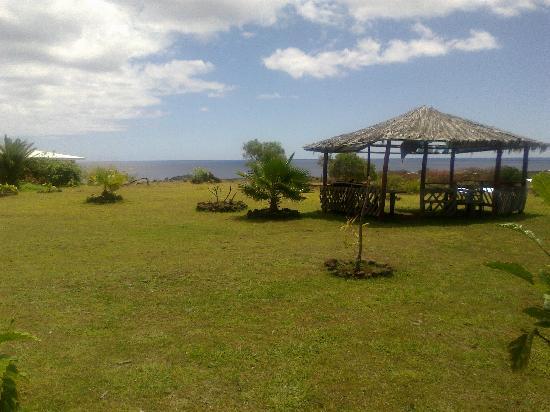 Cabanas Manatea: Vista desde la cabaña