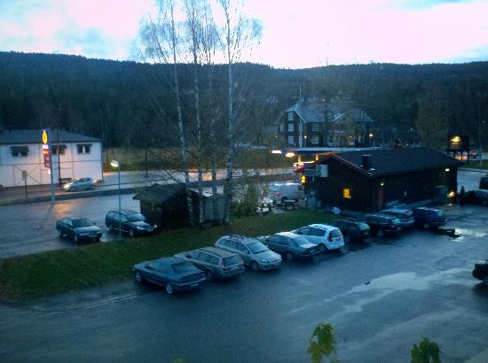 Lampeland Hotell: View from my window