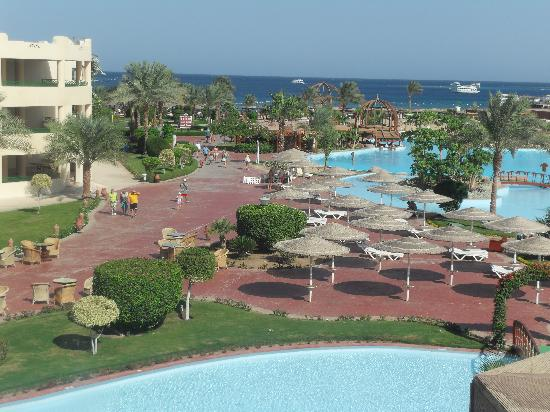 Tia Heights Makadi Bay: View from our Hotel Room
