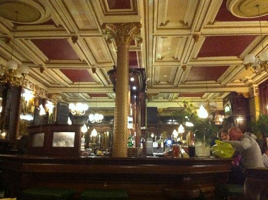 Cafe Royal Oyster Bar: Interior including the bar