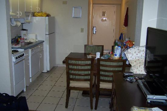 Grand Seas Resort: This is the kitchen dinning room area