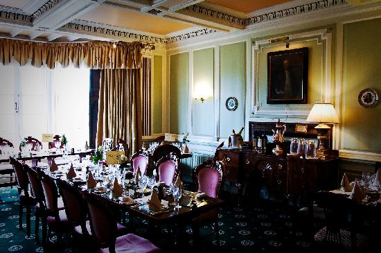 Aynsome Manor Hotel: The perfect dining room