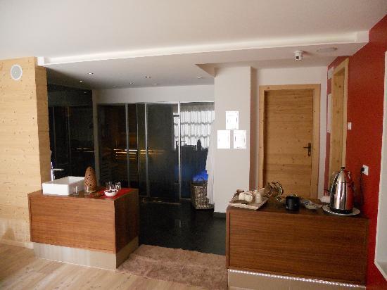 Albergo Erika: area sauna bagno turco